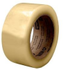 3M Scotch 3071 Clear Standard Box Sealing Tape - 48 mm Width x 100 m Length - 2.1 mil Thick - 64569 -- 051115-64569 - Image