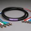 PROFlex Video Cable 4Ch 3CFB BNCP-BNCP 10' -- 304VS3CFB-BR-010