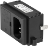 IEC Appliance Inlet C14 with Fuseholder 1- or 2-pole (5x20 mm) -- KP (FH) -Image