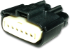 Molex 33471-0601 MX1506-Pin Connector, Female, 22-14 AWG -- 38405 -- View Larger Image