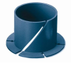 Thomson™ Plastic Flange Bearings -- Type 5 Without Anti Rotation Key 8000A
