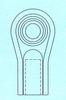 K Series Rod Ends -- KF-8-G