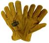 West Chester IronCat Tan Medium Cowhide Leather Welding Glove - Keystone Thumb - 662909-404657 -- 662909-404657
