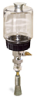 "(Formerly B1745-5X06), Manual Chain Lubricator, 1 pt Polycarbonate Reservoir, 5/8"" Round Brush Stainless Steel -- B1745-016B1SR2W -- View Larger Image"