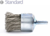 Knotted Wire End Brush -- BNH-6