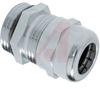 CONNECTOR, STRAIN RELIEF, LIQUID TIGHT,METALLIC, M-16X1.5 THREAD -- 70123269 - Image