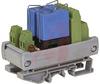 Relay;E-Mech;Sfty;DPDT;Cur-Rtg 8A;Ctrl-V 24DC;Vol-Rtg 400/250AC/DC;DIN Rail Mnt -- 70078499 - Image