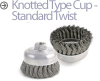 Mini-Grinder Cup and Wheel Brushes -- BUS-3