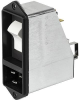IEC Appliance Inlet C20 with Filter, Circuit Breaker TA45 (recessed)