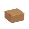 "4"" x 4"" x 2"" Kraft - Gift Boxes -- GB442K"