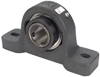 P-U300 Series Cast Iron Ball Bearing Pillow Block -- PU331