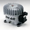 Air Compressor - Lubricated -- 3 motor