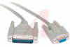 Connector, D9 Female to D25 Male Null Modem Cable, 10 Foot -- 70121112 - Image