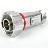 4.1/9.5 Mini DIN Male (Plug) to N Female (Jack) Adapter, Tri-Metal Plated Brass Body, 1.25 VSWR -- SM8205 - Image