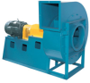 Industrial Radial Blade Fan, Paddle Wheel -- RBO