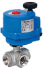 Electric Actuated Ball Valve -- 8E069/8E070/8E071/8E072 3-Way SS