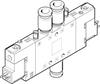 Air solenoid valve -- CPE18-M1H-5JS-QS-8 -Image