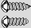 Button Head Hex Drive Sheet Metal Screws -- STP0003 - Image