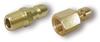 Hansen Quick Coupler Brass Plug -- 1000BR140