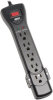 7 Outlet, 7-ft Cord, 2160 Joule Black Strip - Protect It! Surge Suppressor -- SUPER7B