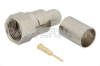 75 Ohm F Male Connector Crimp/Solder Attachment for RG6-CATV, 3 Pieces Connector -- PE44313 -Image