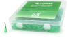 Fisnar QuantX™ 8001158-500 45° Angled Blunt End Needle Green 0.5 in x 18 ga -- 8001158-500 -Image