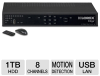 Lorex LH3281001 Video Security DVR - 8 Channels, 1TB HDD, H. -- LH3281001