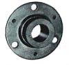 Sealed 3 Hole Flange Mount Bearings -- AG5610