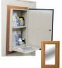 Wooden Laminate In Wall Medication Cabinet, Single Door.. -- WL2780MRTRM - Image