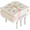 Switch, DIP; 0.390 in. L x 0.380 in. W x 0.225 in. H; 8; 30 mA; 30 VDC; Rotary -- 70216709