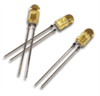 T-1 (3mm), 5 Volt, Integrated Resistor LED Lamp -- HLMP-1621