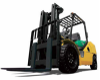 Pneumatic Internal Combustion Forklift, Komatsu -- CX50