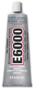 Eclectic E6000 Industrial Strength Solvent Based Adhesive Clear 1 oz Tube -- E6000 1OZ TUBE