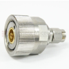 SMA Male (Plug) to 7mm Adapter, Passivated Stainless Steel Body, 1.25 VSWR -- SM3362