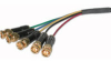 30ft Plenum-Rated RGBHV (5-BNC) Component Video Cable -- 2218-40808-030