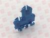CONTA CLIP RKD4/BI ( TERMINAL BLOCK 4MM 32AMP 500VAC BLUE ) -Image