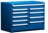 R Stationary Cabinet (Multi-Drawers), with Compartments, 10 drawers (48