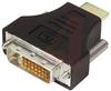 DIGITAL VIDEO ADAPTER, DVI-D DUAL LINK MALE/HDMI MALE -- 70126383