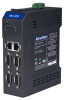 Marvell XScale DIN-rail PC with 2 x LAN, 4 x COM, 2 x DI, 2 x DO -- UNO-1019