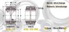 Heavy Duty Sealed & Unsealed Spherical Plain Metric Bearing -- View Larger Image