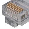 Category 5E Flat Patch Cable, RJ45 / RJ45, Black, 100.0 ft -- TRD855FLAT-100 -Image