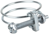 Hose clamp for securing wire-reinforced hoses SSD 28-32 ST-VZ -- 10.07.10.00087 - Image