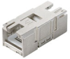 Passive Industrial Ethernet IP67 Plug-In Connector Inserts RJ45 -- IE-BI-RJ45-C