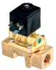Spartan Scientific Series 3505 Air-Sol Brass 2-Way Process Solenoid Valve 1/4