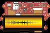 """3.9"""" pixxiLCD Series Intelligent Display Module with PIXXI-44 Graphics Controller -- pixxiLCD-39P4-CTP"""