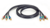 Component Video Cable - (3) RCA on Each End, 1.5ft. (0.5m) -- VCB-3RCA-0001 -- View Larger Image