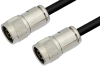 N Male to N Male Cable 12 Inch Length Using PE-C300 Coax -- PE36634-12 -Image
