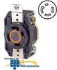 Leviton 30 AMP, 250V, Single Flush Receptacle -- 2720