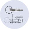 Indexing Pins - Pull Ring -- 54762