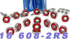 16 Sealed Skate Bearing -- kit136